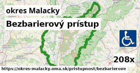 bezbarierový prístup v okres Malacky