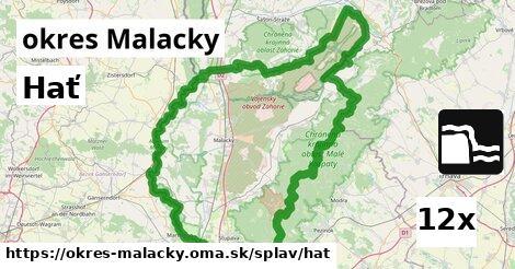 hať v okres Malacky