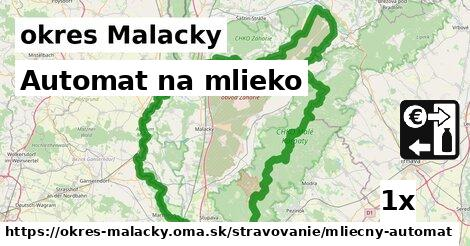 ilustračný obrázok k Automat na mlieko, okres Malacky