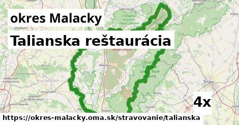 ilustračný obrázok k Talianska reštaurácia, okres Malacky