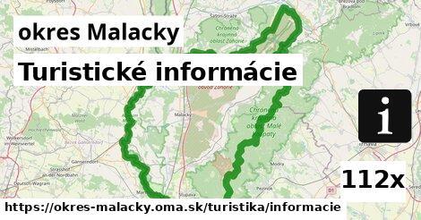 ilustračný obrázok k Turistické informácie, okres Malacky