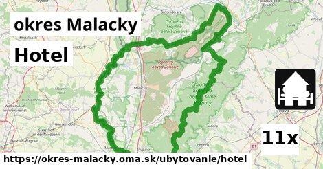 ilustračný obrázok k Hotel, okres Malacky