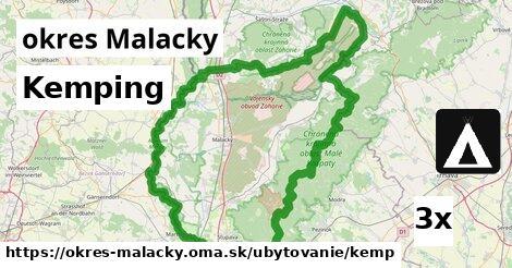 kemping v okres Malacky