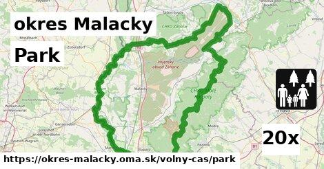 ilustračný obrázok k Park, okres Malacky