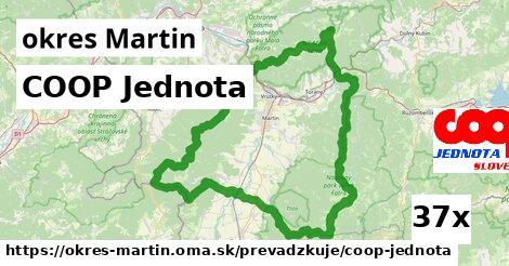 COOP Jednota v okres Martin