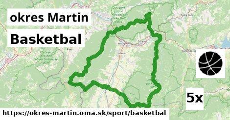 ilustračný obrázok k Basketbal, okres Martin