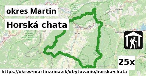 horská chata v okres Martin