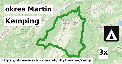 kemping v okres Martin