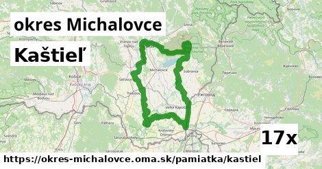 kaštieľ v okres Michalovce