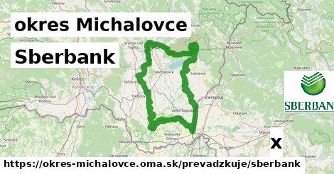 Sberbank v okres Michalovce
