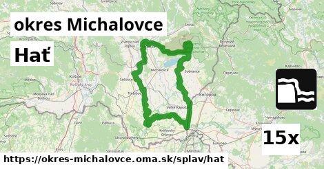 hať v okres Michalovce