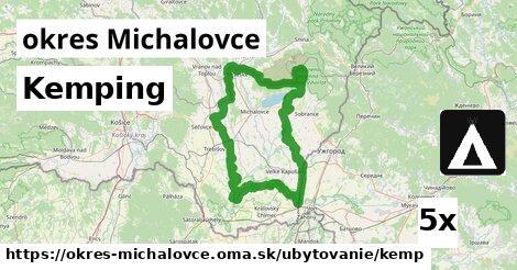 kemping v okres Michalovce