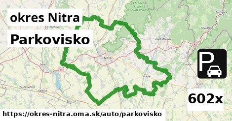 ilustračný obrázok k Parkovisko, okres Nitra