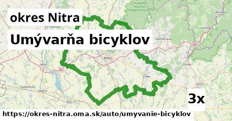 ilustračný obrázok k Umývarňa bicyklov, okres Nitra