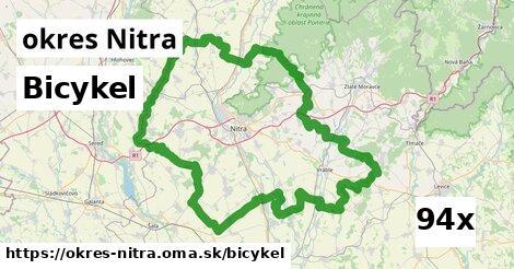 bicykel v okres Nitra