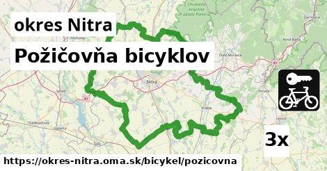 požičovňa bicyklov v okres Nitra