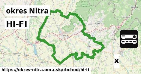 ilustračný obrázok k HI-FI, okres Nitra