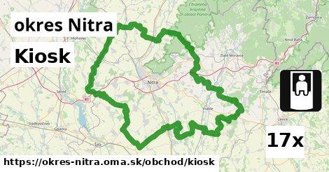 ilustračný obrázok k Kiosk, okres Nitra