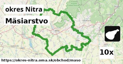 ilustračný obrázok k Mäsiarstvo, okres Nitra