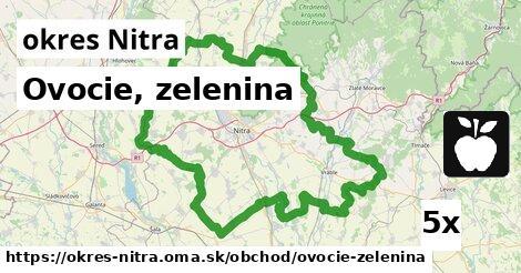 ilustračný obrázok k Ovocie, zelenina, okres Nitra