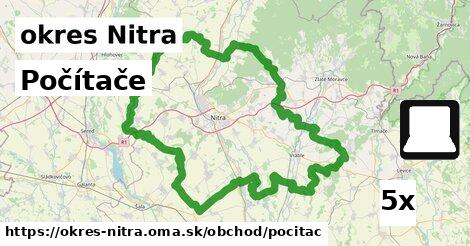 ilustračný obrázok k Počítače, okres Nitra