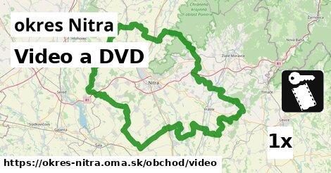 ilustračný obrázok k Video a DVD, okres Nitra