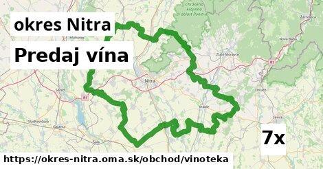 ilustračný obrázok k Predaj vína, okres Nitra