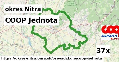 COOP Jednota v okres Nitra