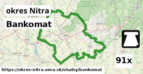 bankomat v okres Nitra