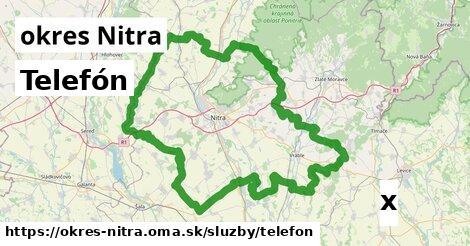 ilustračný obrázok k Telefón, okres Nitra