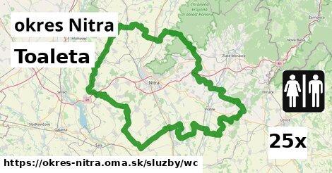 ilustračný obrázok k Toaleta, okres Nitra