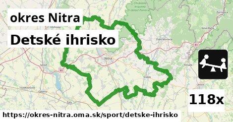 ilustračný obrázok k Detské ihrisko, okres Nitra