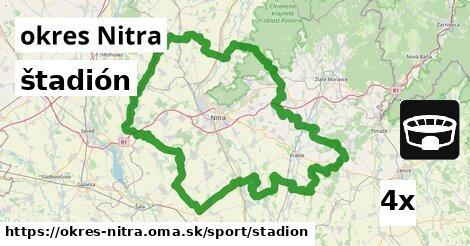 ilustračný obrázok k štadión, okres Nitra