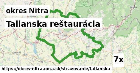talianska reštaurácia v okres Nitra