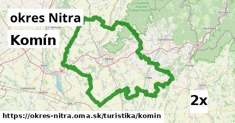 ilustračný obrázok k Komín, okres Nitra