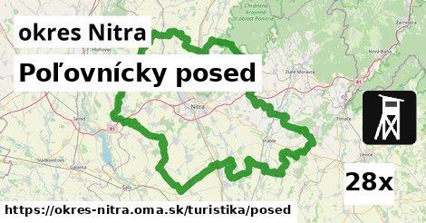 ilustračný obrázok k Poľovnícky posed, okres Nitra