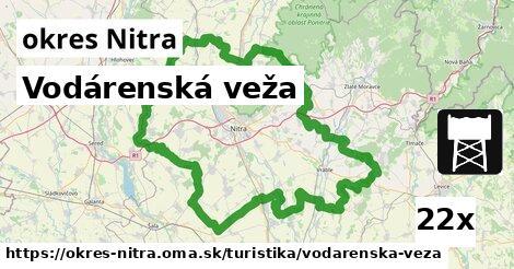 ilustračný obrázok k Vodárenská veža, okres Nitra