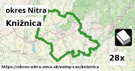 ilustračný obrázok k Knižnica, okres Nitra