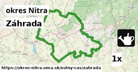 záhrada v okres Nitra