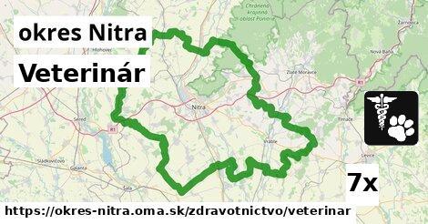 ilustračný obrázok k Veterinár, okres Nitra