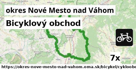 ilustračný obrázok k Bicyklový obchod, okres Nové Mesto nad Váhom