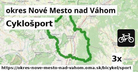 cyklošport v okres Nové Mesto nad Váhom
