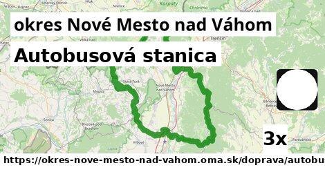 ilustračný obrázok k Autobusová stanica, okres Nové Mesto nad Váhom