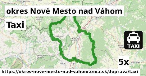 ilustračný obrázok k Taxi, okres Nové Mesto nad Váhom