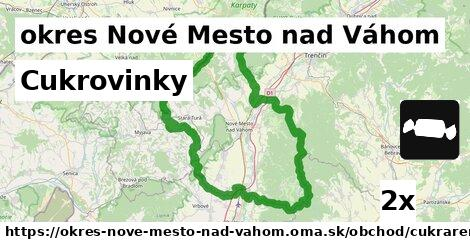 ilustračný obrázok k Cukrovinky, okres Nové Mesto nad Váhom