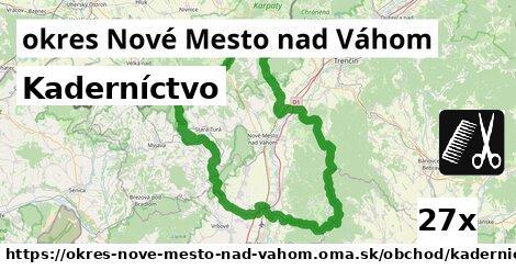kaderníctvo v okres Nové Mesto nad Váhom