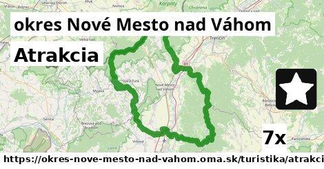 atrakcia v okres Nové Mesto nad Váhom