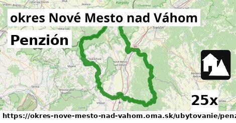 ilustračný obrázok k Penzión, okres Nové Mesto nad Váhom