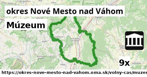 múzeum v okres Nové Mesto nad Váhom