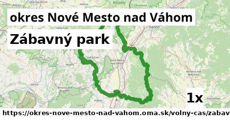 zábavný park v okres Nové Mesto nad Váhom